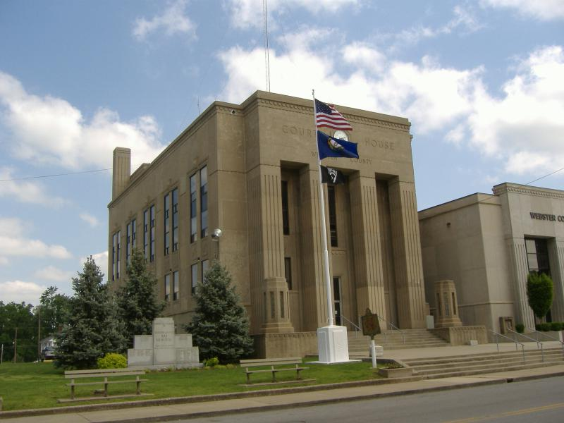 Webster County Courthouse Kentucky