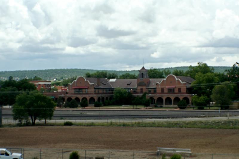 Rail Station in Las Vegas, New Mexico