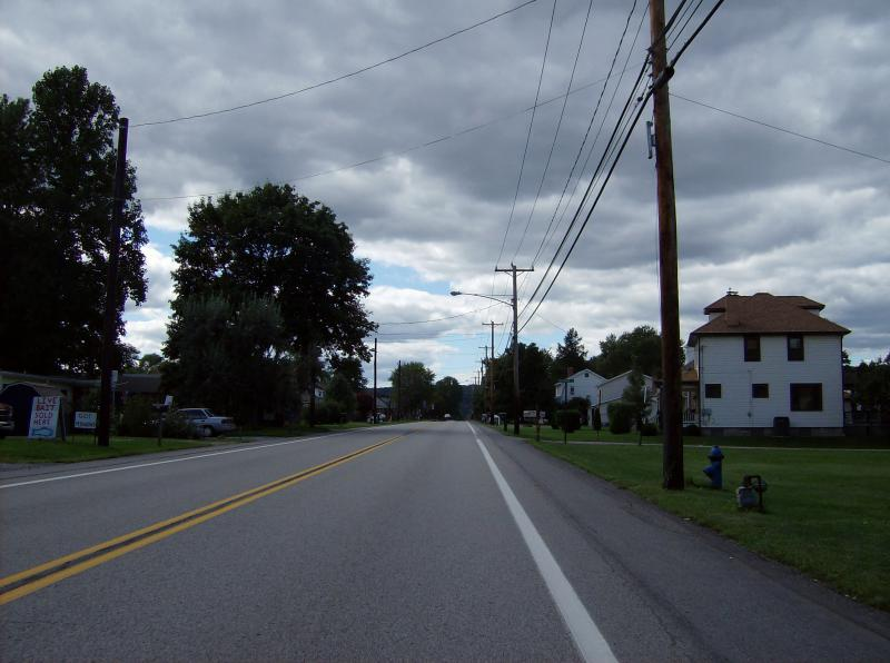 Westbound P A68 in eastern Ohioville, Beaver County