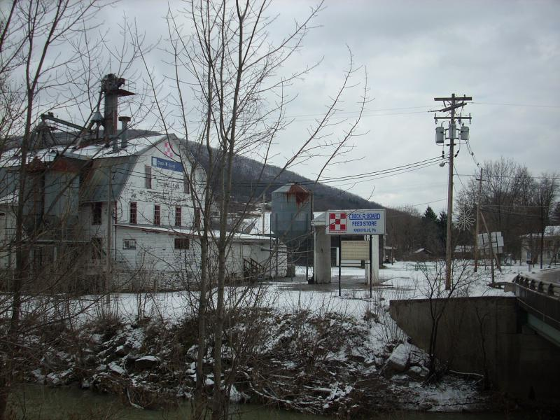 Mill in Knoxville, P A