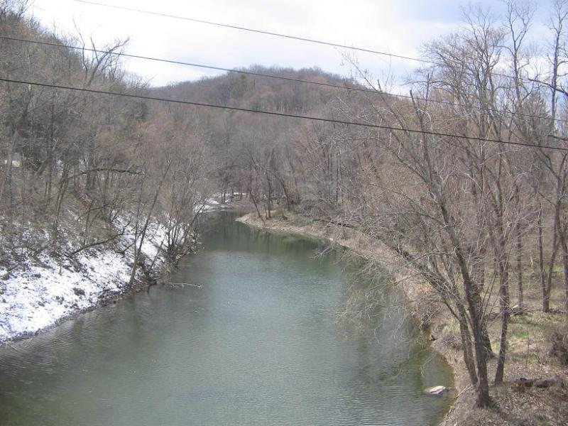 White Deer Hole Creek from Route 15