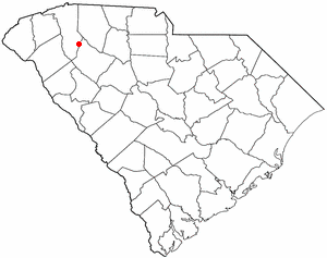 S C Map-doton- Fountain Inn
