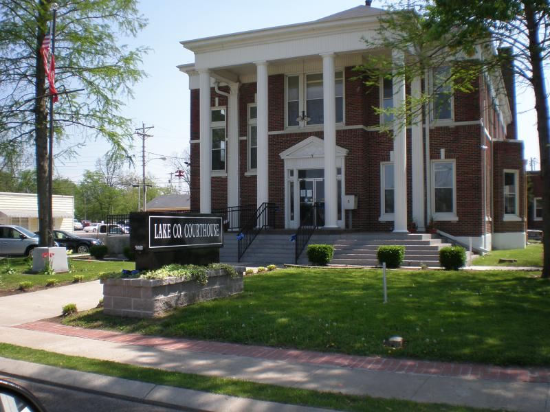 Lake County Tennessee Courthouse