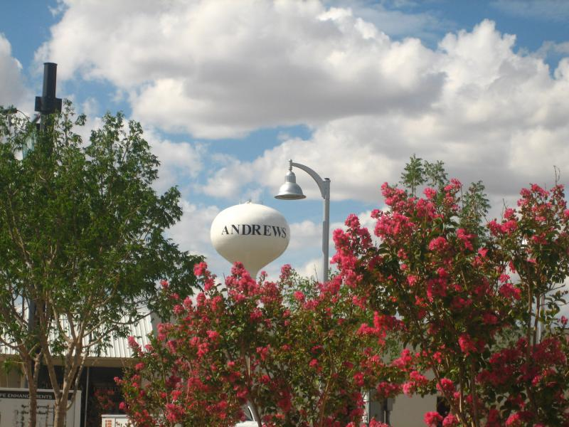 Andrews, Texas, Water Tower I M G 0372