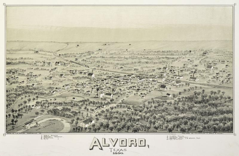 Old map- Alvord-1890